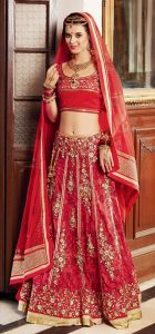 Bridal Lehenga Red