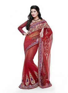 Lehenga Saree Bridal Images