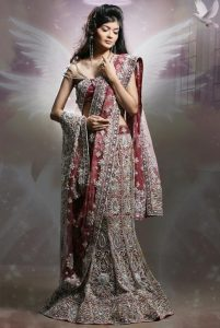 Lehenga Saree for Bridal