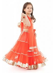 Lehenga for Kids Design