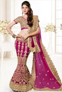 Marriage Fish Cut Lehenga