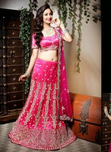 Marriage Lehenga Pink
