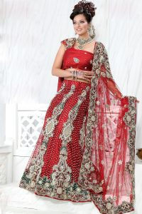 Marriage Lehenga Red