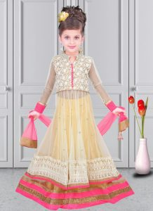 Net Lehenga for Kids