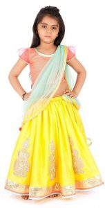 Pictures of Lehenga for Kids