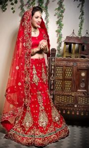 Red Lehenga Bridal